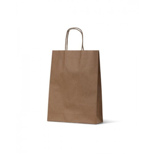 Brown Kraft Small Paper Carry Bags
