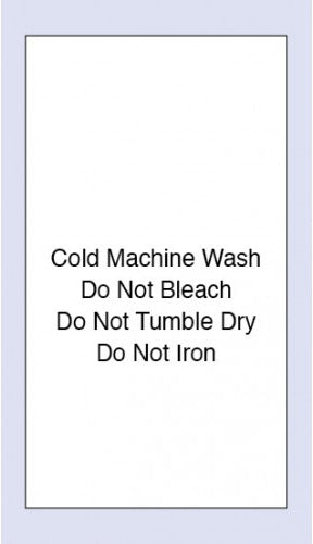 Care Labels Cold Machine Wash