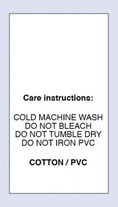 Care Labels Cotton PVC Now on Satin
