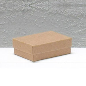 Jewellery Box Extra Small Natural Kraft 54 mm W x 79 mm L X 25 mm D