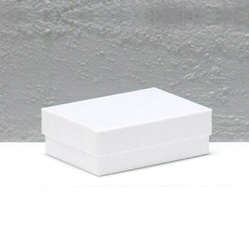 Jewellery Box Extra Small White 54 mm W x 79 mm L x 25 mm D CF32