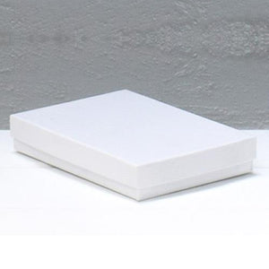 Jewellery Box Medium White 89 mm W x 140 mm L x 25 mm D