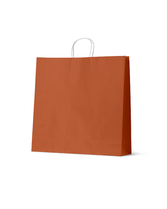 Earth Collection Extra Large Earth Burnt Orange Carry Bags