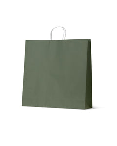 Earth Collection Extra Large Earth Green Paper Carry Bags