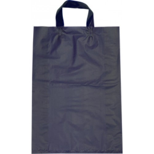 Purple Small Flexi Loop Handle Plastic Bags