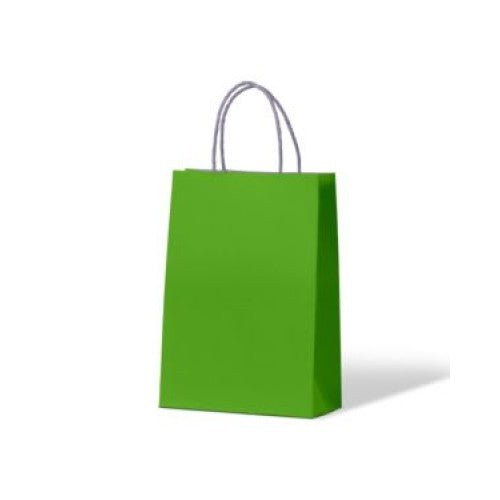 Green Junior Paper Carry Bags