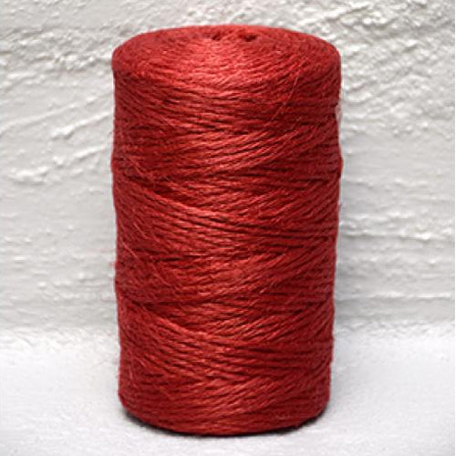 Jute Twine Red