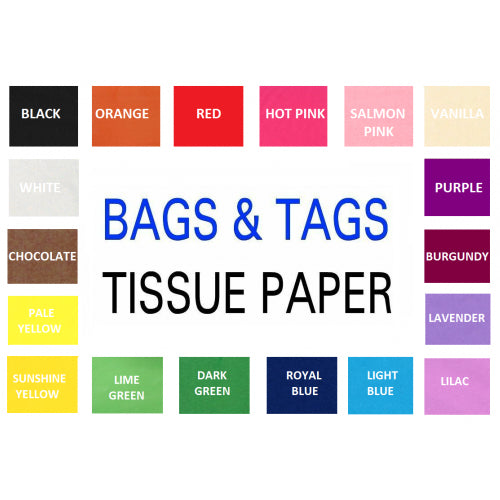 Mixed Pack of Tissue Paper 50 Pack