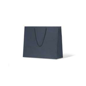 Navy Medium Boutique Matte Paper Bag 330 mm x 405 mm