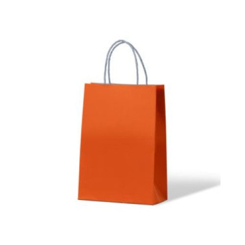 Orange Junior Paper Carry Bags