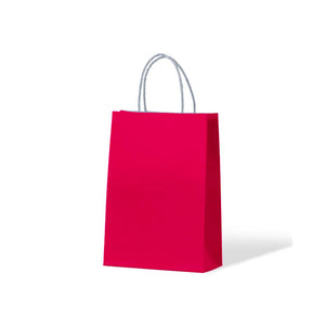 Pink Junior Paper Carry Bags