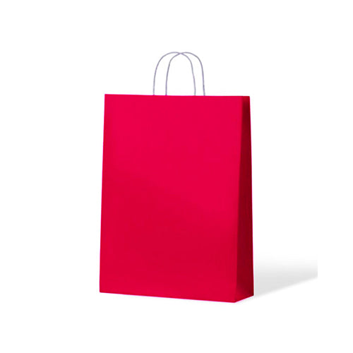Pink Medium Paper Carry Bags