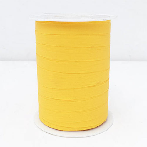 Matte Curling Ribbon 10 mm x 250 Metres Yellow