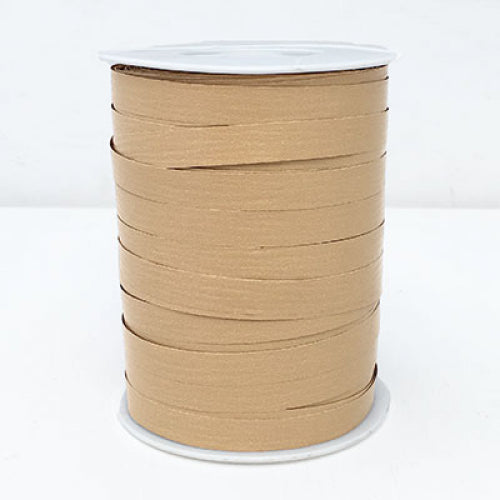 Matte Curling Ribbon 10 mm x 250 Metres Natural