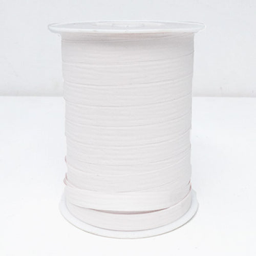 Matte Curling Ribbon 10 mm x 250 Metres White