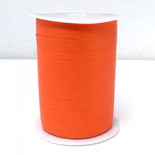 Matte Curling Ribbon 10 mm x 250 Metres Orange