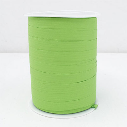 Matte Curling Ribbon 10 mm x 250 Metres Lime Green