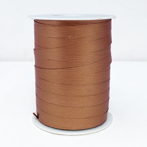 Matte Curling Ribbon 10 mm x 250 Metres Copper