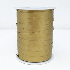 Matte Curling Ribbon 10 mm x 250 Metres Gold