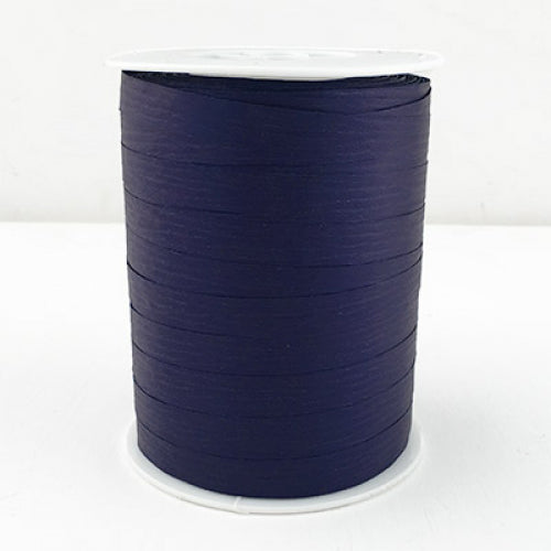 Matte Curling Ribbon 10 mm x 250 Metres Navy