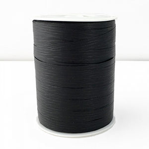 Matte Curling Ribbon 10 mm x 250 Metres Black