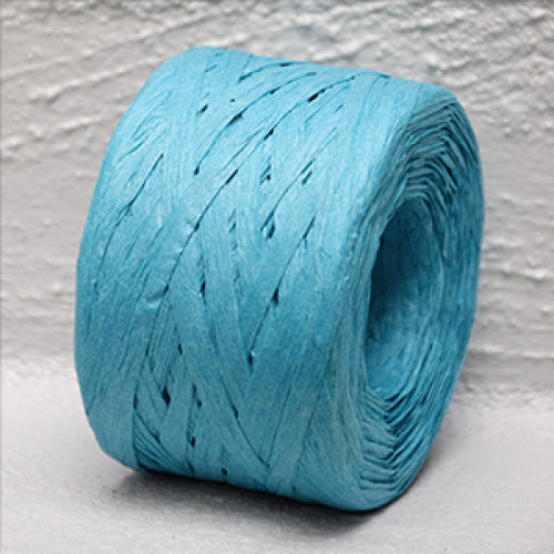 Paper Raffia 4 mm x 100 Metres Aqua (Formally Blue )