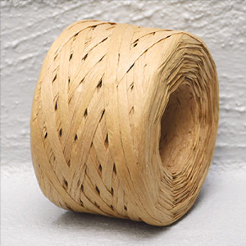 Paper Raffia 4 mm x 100 Metres Natural