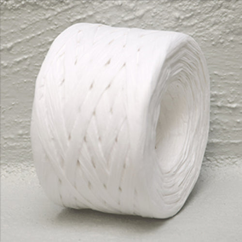 Paper Raffia 4 mm x 100 Metres Off White