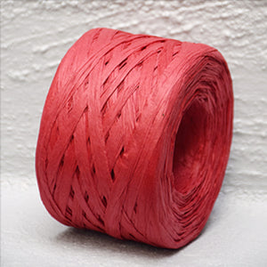 Paper Raffia Red 4 mm Wide