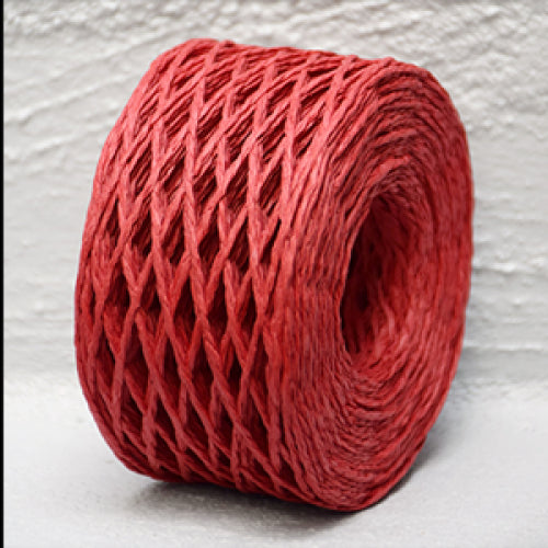 Paper Twine 2 mm x 100 Metres Red