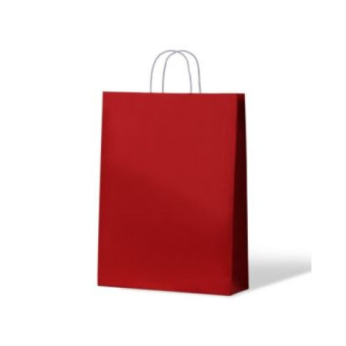 Red Medium Paper Carry Bags