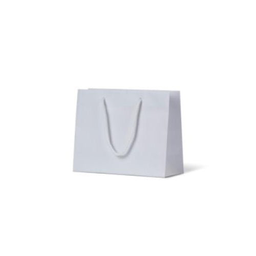 White Extra Small Matte Paper Bag 165 mm x 165 mm