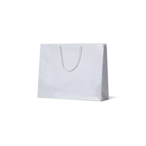 White Gloss Large Paper Bag 400 mm x 510mm