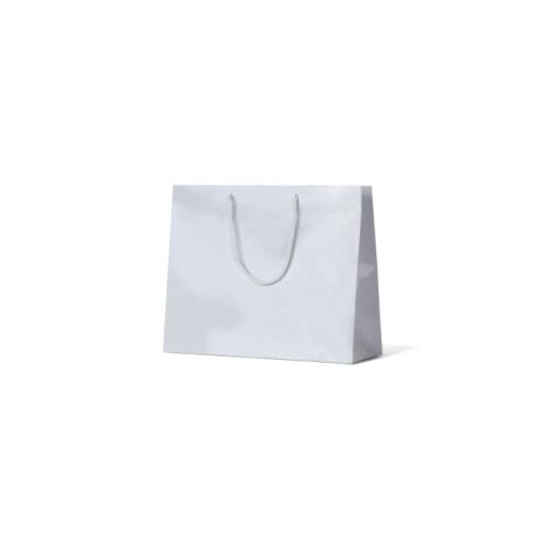 White Medium Boutique Gloss Paper Bag 330 mm x 405 mm