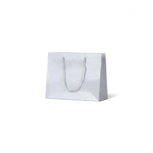 White Small Boutique Gloss Paper Bag 250 mm x 330 mm