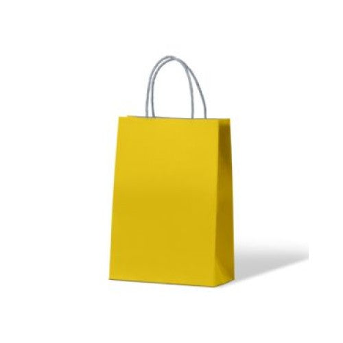 Yellow Junior Paper Carry Bags