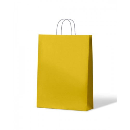 Yellow Medium Paper Carry Bags Special See Note