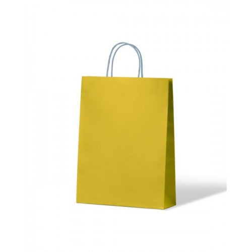 Yellow Small Paper Carry Bags