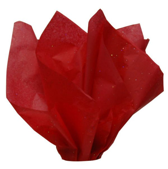 Red Gem Stone  Tissue Paper