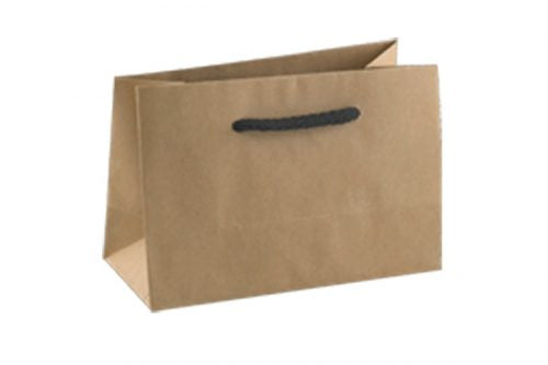 Kraft Deluxe Mini Gift Brown Paper Carry Bags