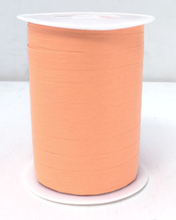 Matte Curling Ribbon 10 mm x 250 Metres Apricot