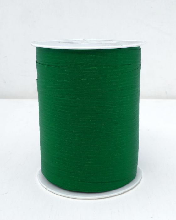 Matte Curling Ribbon 10 mm x 250 Metres Pine Green