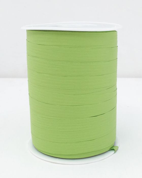 Matte Curling Ribbon Avocado 10 mm x 250 Metres