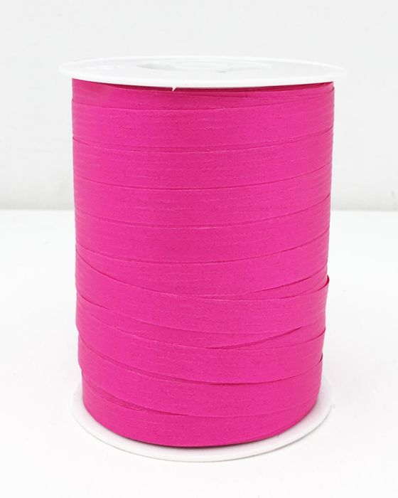 Matte Curling Ribbon Fuchsia 10 mm x 250 Metres