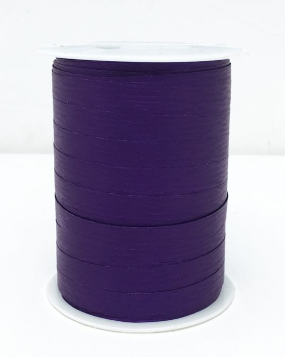 Matte Curling Ribbon 10 mm x 250 Metres Purple