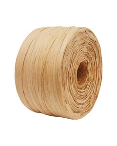 Paper Raffia Natural 4 mm x 500 Metres Bulk Roll