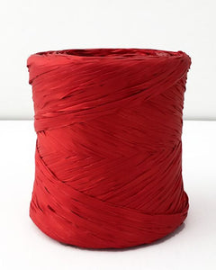 Poly Raffia 5 mm x 200 Metres Red