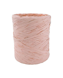 Poly Raffia 5 mm x 200 Metres Dusty Pink