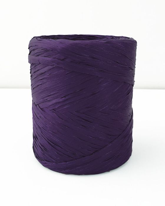 Poly Raffia 5 mm x 200 Metres Purple