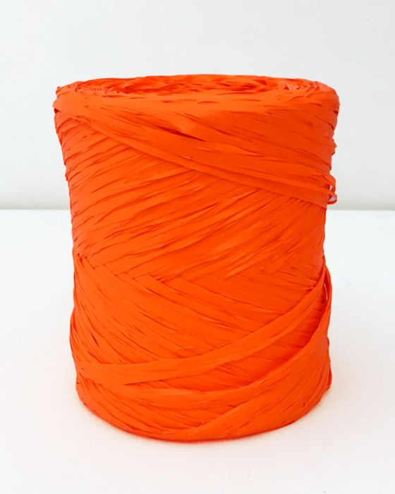 Poly Raffia 5 mm x 200 Metres Orange